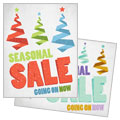 Snow Trees - Sale Poster Template