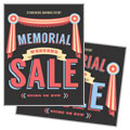 Memorial Weekend - Sale Poster Template