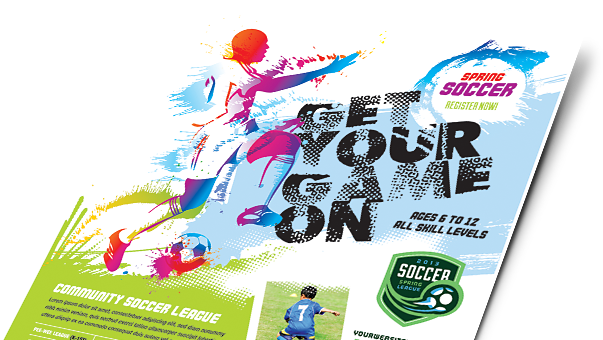 Sports & Fitness Brochures, Flyers, Newsletters - Microsoft Word Templates & Publisher Templates