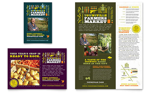 Farmers Market Flyer & Ad