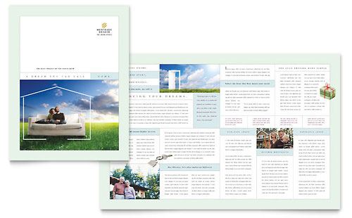ms office brochure templates - real estate brochures flyers word publisher templates