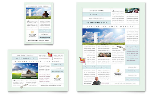 Mortgage Lenders Flyer & Ad Template Design