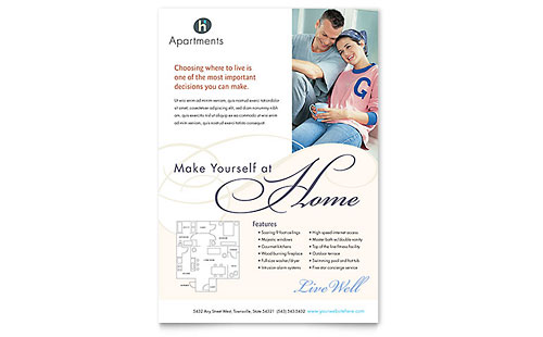 Property Management Flyer Templates Word Publisher