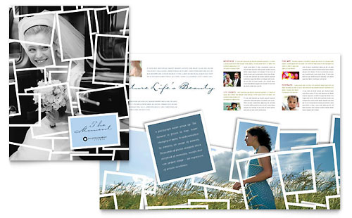 Photographer Brochure Template - Microsoft Office