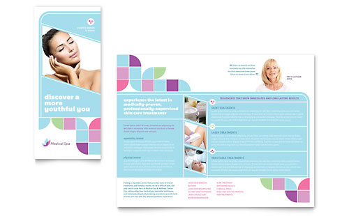 Medical Spa Brochure Template - Microsoft Office
