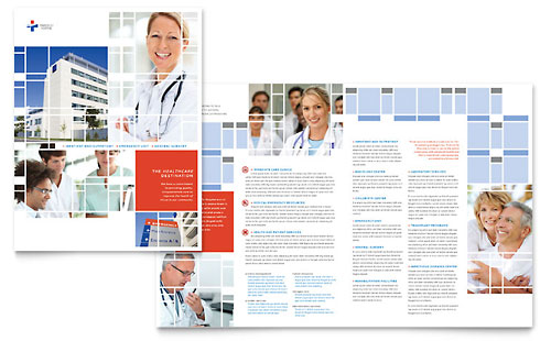 Hospital Brochure Template - Microsoft Office