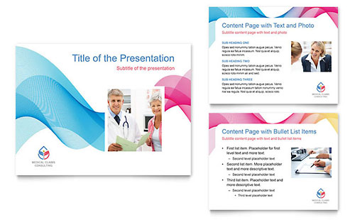 Insurance Consulting Presentation Template - Microsoft PowerPoint