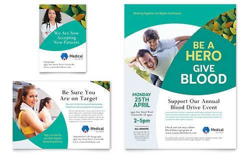 Doctor's Office Flyer & Ad Template Design