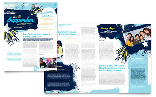 Newsletter Template Church Youth Group