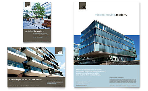 Architect Flyer & Ad Template Design