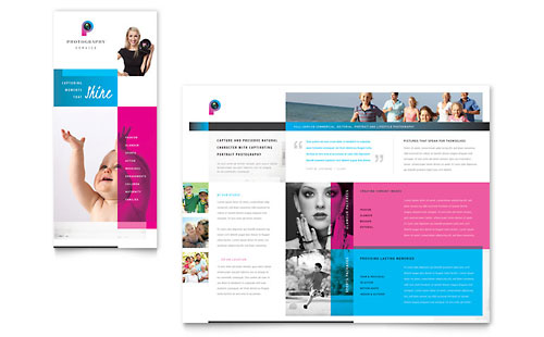 Photography Business Brochure Template - Microsoft Office