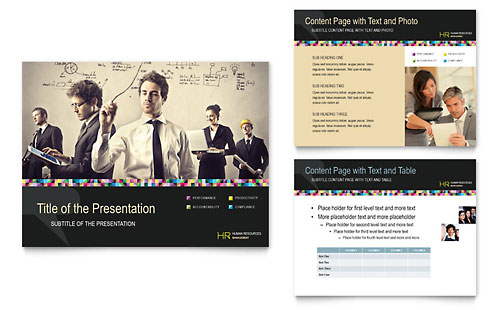 Human Resource Management PowerPoint Presentation Template - Microsoft Office