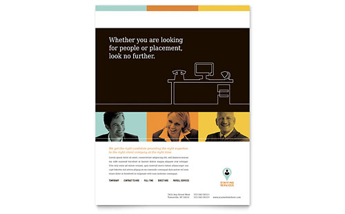 Recruiter Flyer Template - Microsoft Office