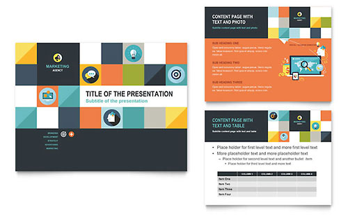 Advertising Company PowerPoint Presentation Template - Microsoft Office