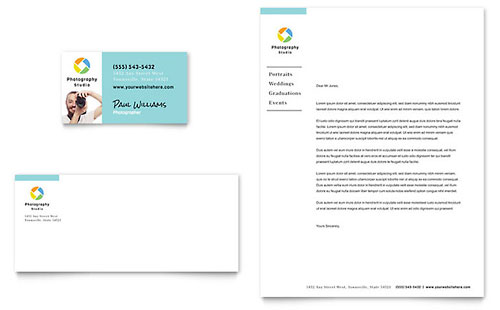 Business Card U0026 Letterhead  Business Letterhead Template Free