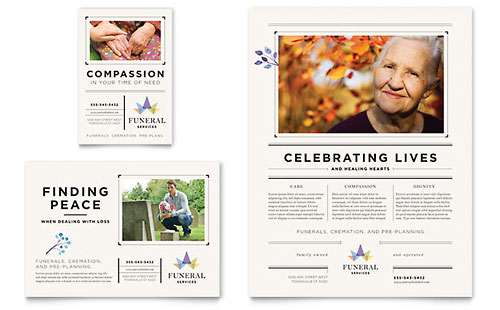 Funeral Services Flyer & Ad Template - Microsoft Office