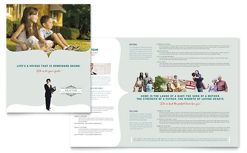 Realtor & Realty Agency Brochure Template