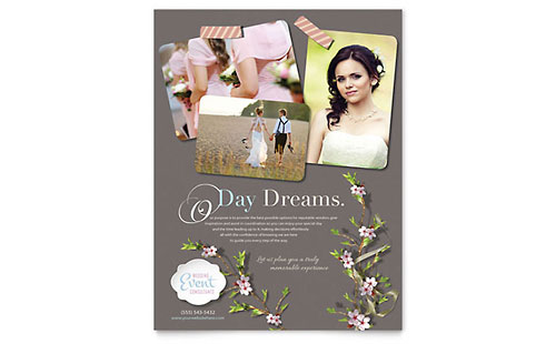 Wedding Planner Flyer Template - Microsoft Office