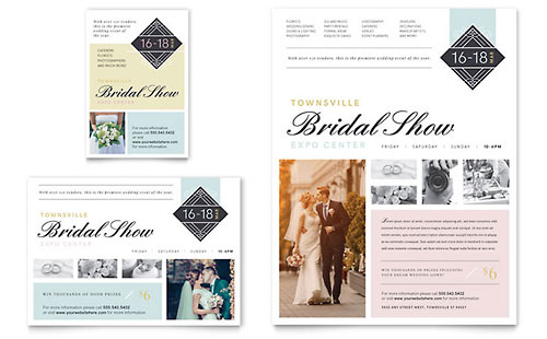 Bridal Show Flyer & Ad Template - Microsoft Office