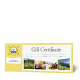 Gift Certificate Templates - Word & Publisher