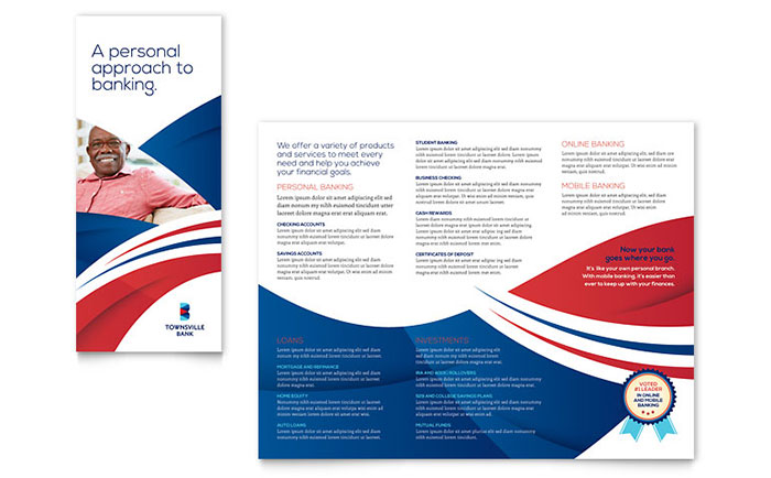 LayoutReady  Free Tri Fold Brochure Templates Word