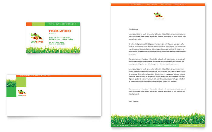 gardening lawn care logo templates word publisher