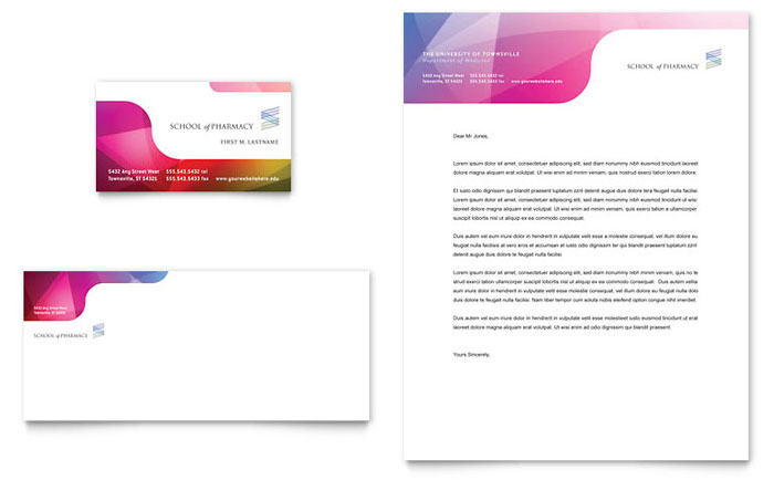 LayoutReady  Free Business Letterhead Templates For Word