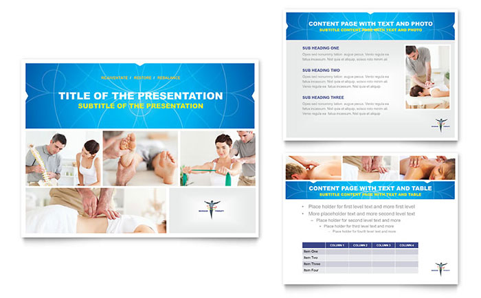 Reflexology & Massage PowerPoint Presentation Template Download - Microsoft Office