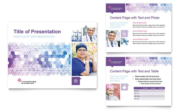 Cancer Treatment Powerpoint Presentation Powerpoint Template