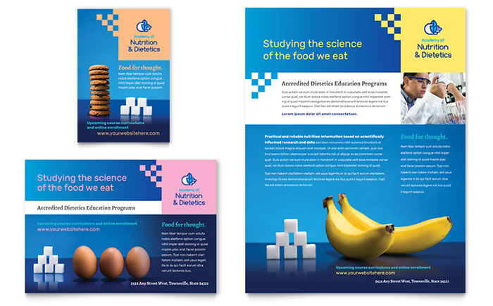 Dietitian Flyer & Ad Template Download - Word & Publisher - Microsoft Office