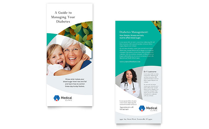 doctor s office rack card template word publisher