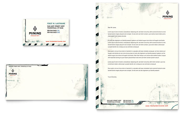 Letterhead Templates - Word & Publisher Templates
