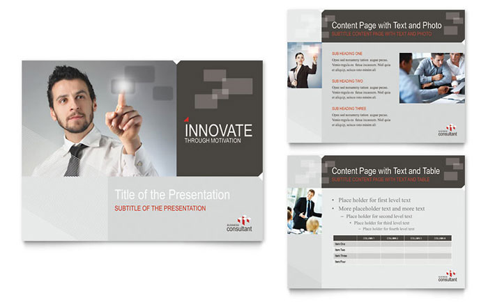 corporate business powerpoint presentation - powerpoint template, Powerpoint templates