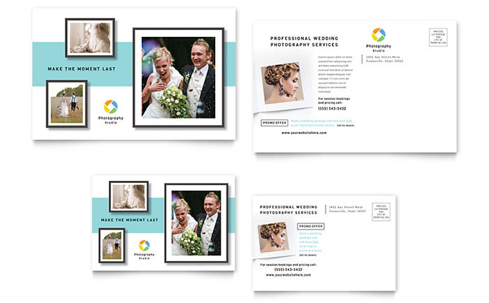 Photographer Postcard Template - Word & Publisher