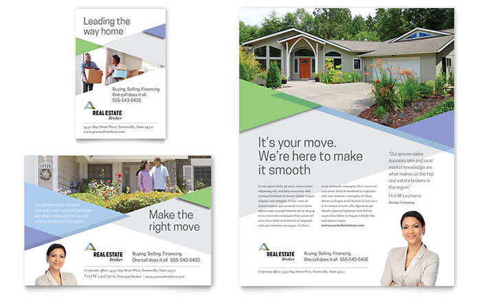 Realtor Flyer & Ad Template - Word & Publisher