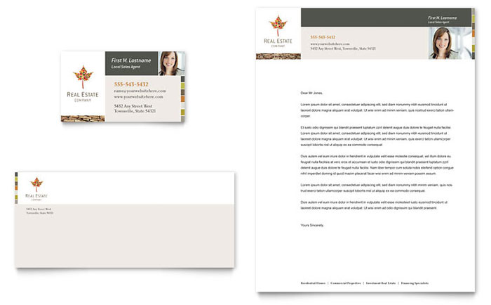 Free Sample Letterhead Templates - Word & Publisher