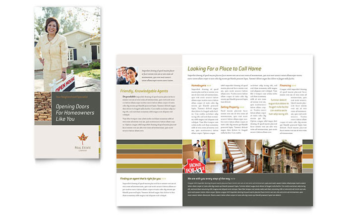 Free Sample Brochure Templates Word Publisher Templates - Bi fold brochure template publisher