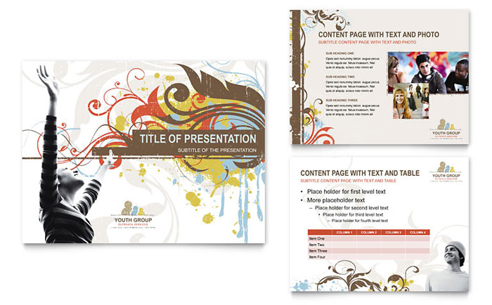 Church Youth Group Powerpoint Presentation  Powerpoint Template