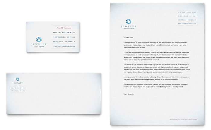 Jeweler jewelry store business card letterhead template word jeweler jewelry store business card letterhead template word publisher reheart