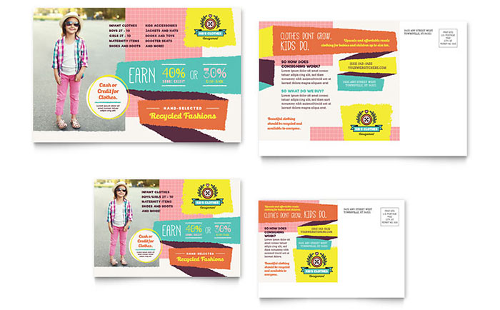 LayoutReady  Free Postcard Templates Microsoft Word