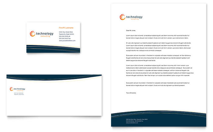Free Stationery Template - Download Word & Publisher Templates