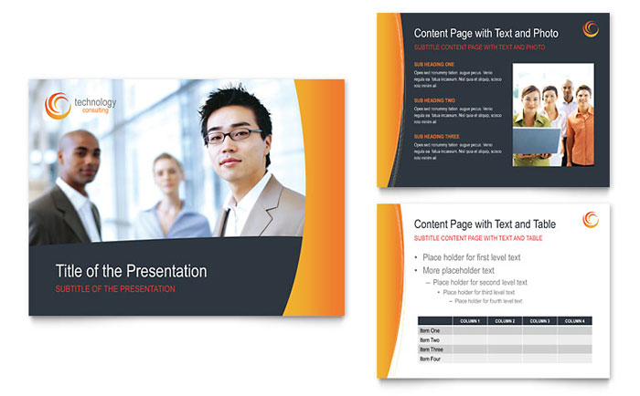 free presentation template - download powerpoint templates, Modern powerpoint