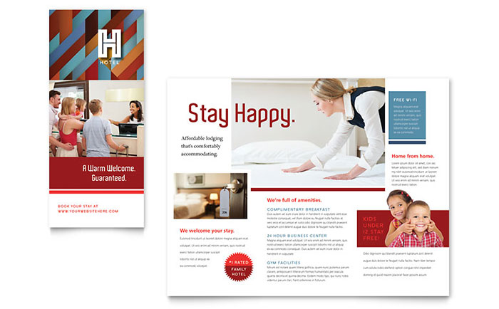 Hotel brochure template word publisher for Hotel brochure templates free download