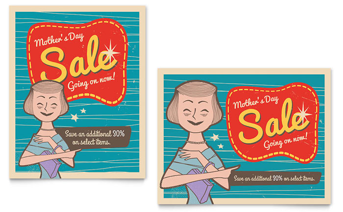 Mothers Day Sale Template
