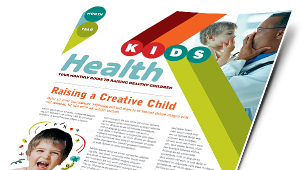 Child Care Brochures, Flyers, Newsletters - Microsoft Word Templates & Publisher Templates